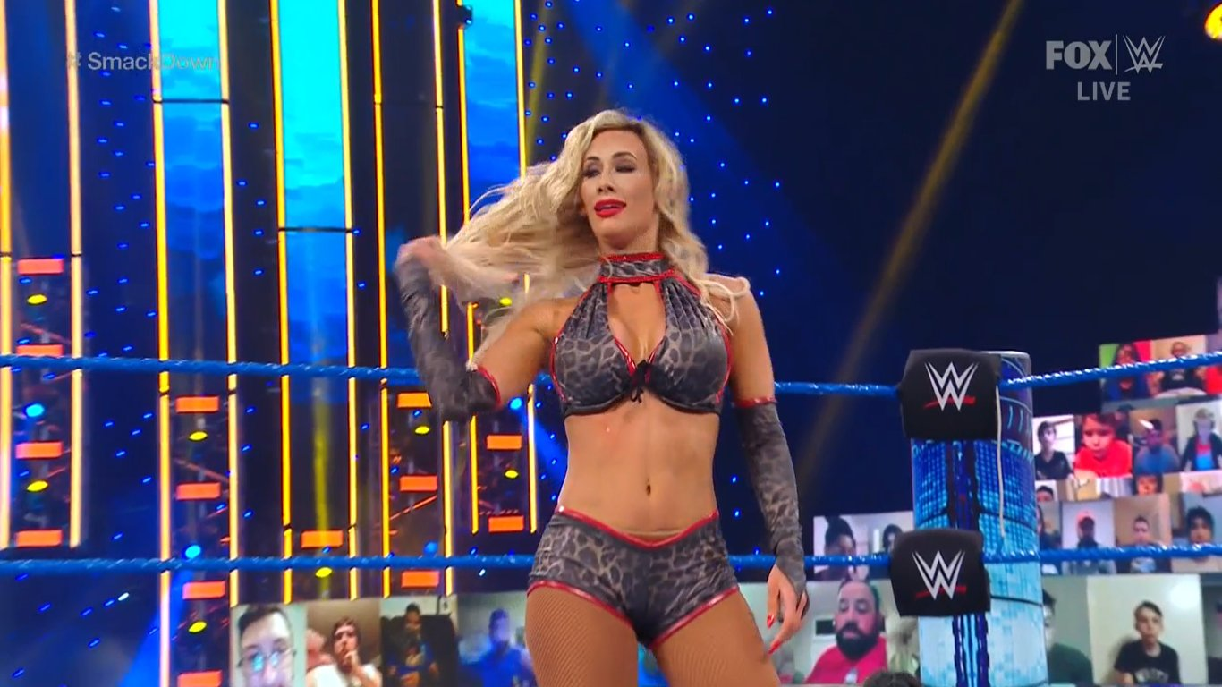 Photos: Carmella Suffered Wardrobe Malfunction On WWE Smackdown 5