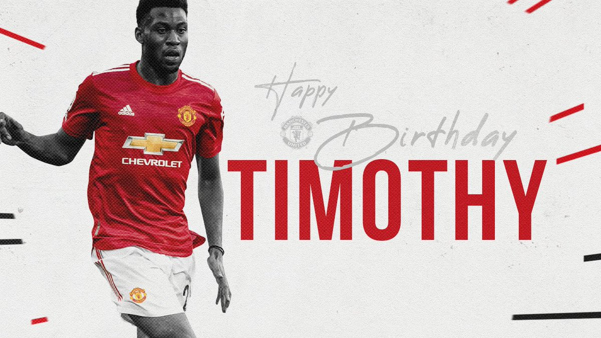 🔴 @TFosuMensah turns 2️⃣3️⃣ today! 🥳  #MUFC