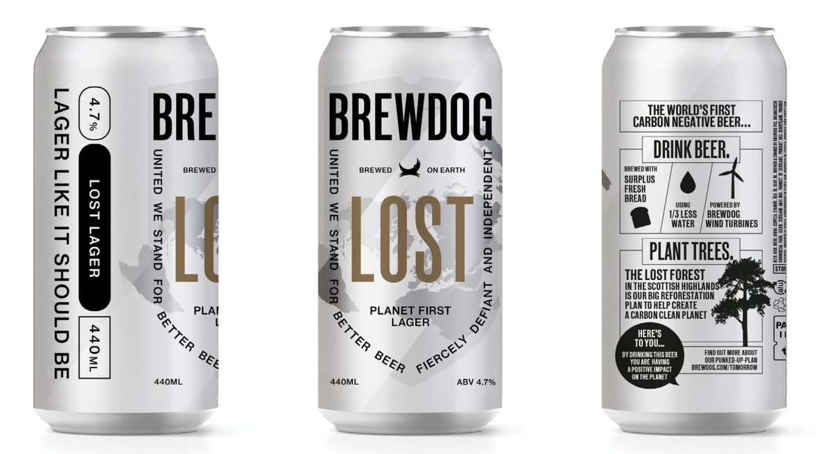 Awesome new sustainable packaging and design! #tuesdaymotivations #sustainability #innovation #business   Utilizing Memjet's digital inkjet technology you can enhance your beer can packaging and labels! https://t.co/m5cw9LRS44