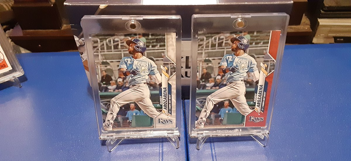 Double All Star Randy Arozarena's! Mother's Day Parallel & Base. #randyarozarena #2020toppsupdate https://t.co/yvDsdSUFf5