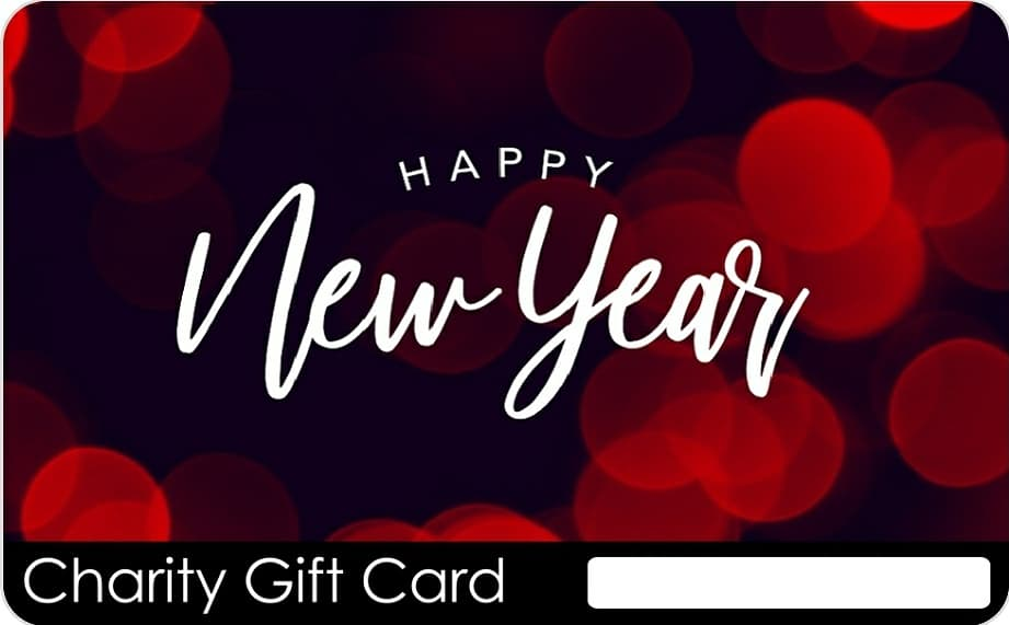 Happy New Year with a purpose!   Check out our latest Charity Gift Card designs to help you #RedefineGifting in 2021.  Say Happy New Year meaningfully with a shared experience--that makes an #impact!  Go to  > Shop > New Year  #bettergift 🎁 #betterworld 🌍