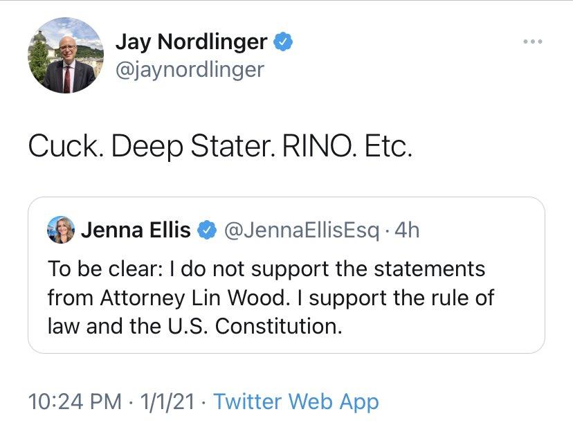 """Jenna Ellis on Twitter: """"^^Receipt.… """""""
