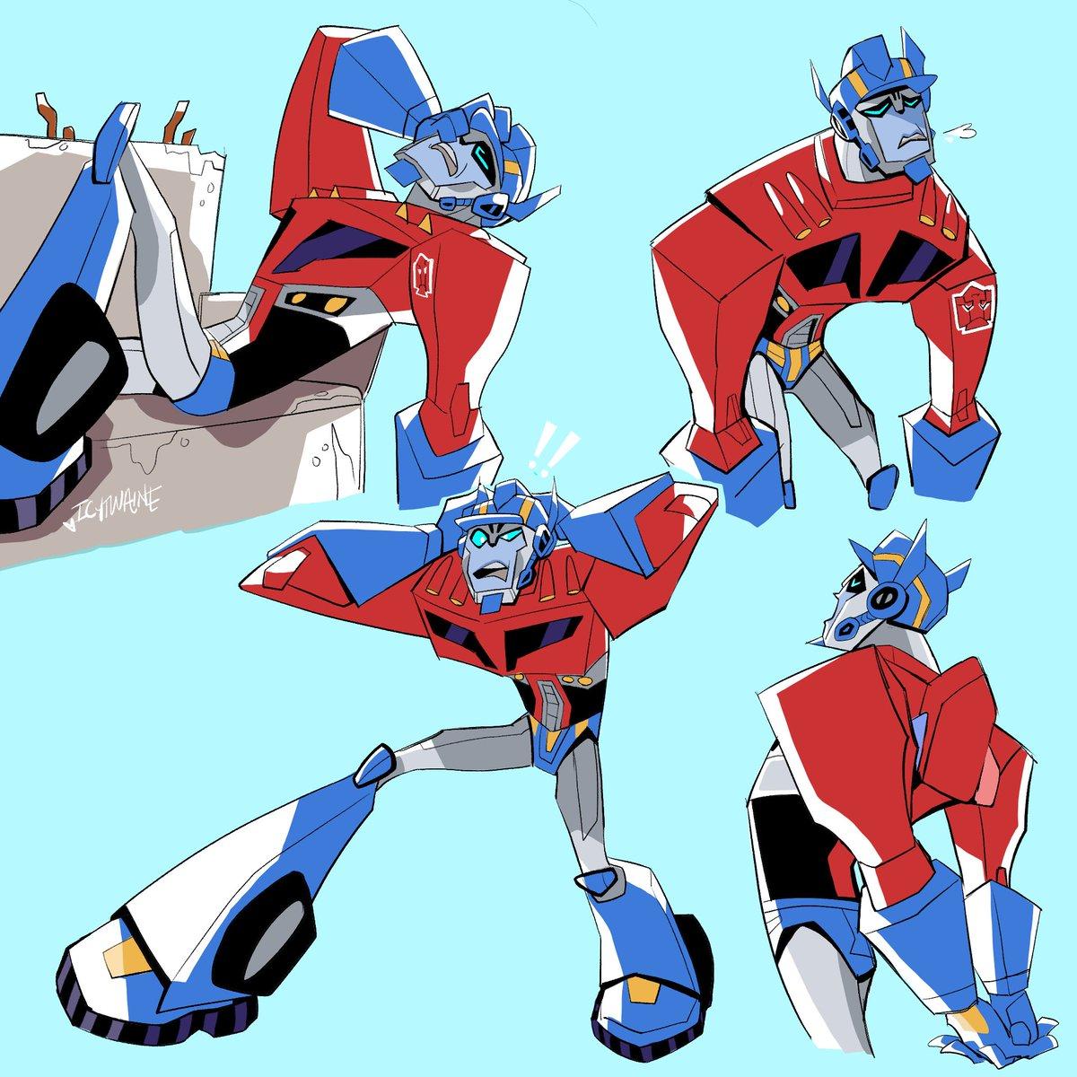 TFA Optimus Prime,,, He tries his best, 💕