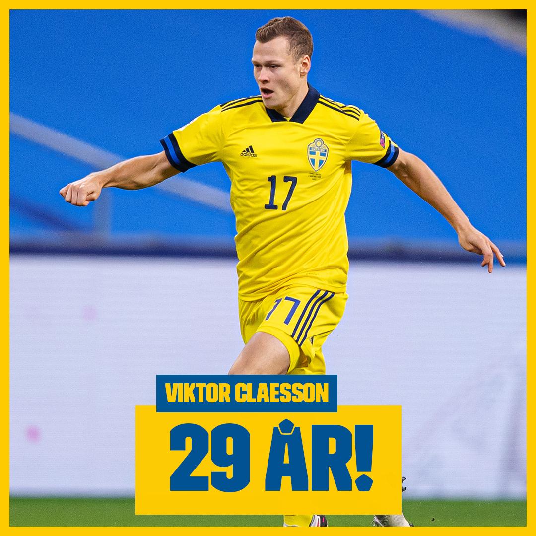 Stort grattis till Viktor Claesson som idag fyller 29 år! 🎂😃 Skriv din grattishälsning till Viktor här! 🎉😄