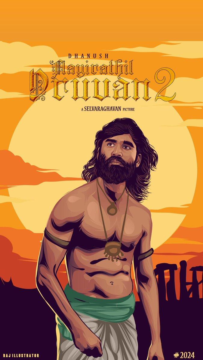 @dhanushkraja Massss annaa egarly waiting 🙏🏻🙏🏻🙏🏻🙏🏻 #dhanushkraja  #dhanush  #AayirathilOruvan2