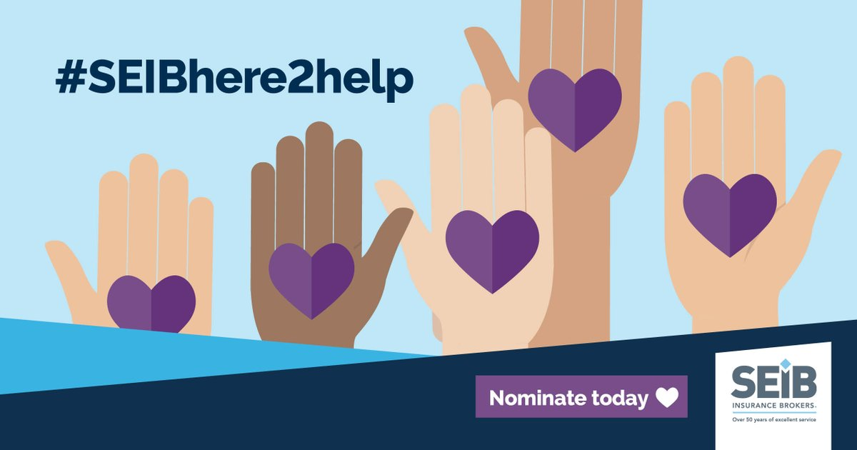 Can you help? 👇👇  Society Inc could win £10,000! Allowing us to help more people.  Your nomination could be the one that gets us into the final vote in the SEIB Insurance Brokers Charity Awards.      Our charity no: 1181461 Nominate us at . #SEIBHere2Help