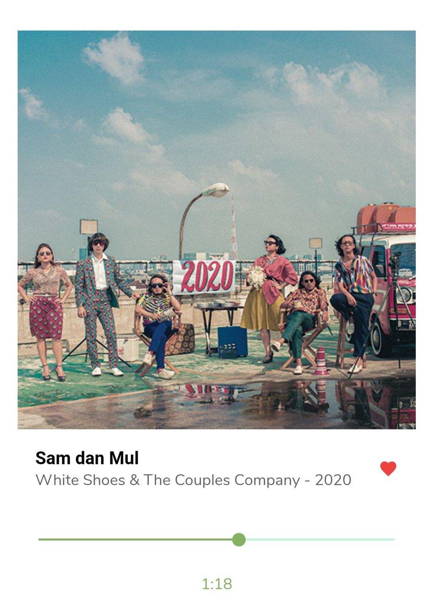 """2020"""" Album barunya @wsatcc  tiap Tracknya eennnnnnaaaaaak bangetttt..   Ga sia² lama nunggunya, mereka selalu kasih racikan musik yg beda ditiap album... 🌴🌞🍃⭐⭐⭐✨"""
