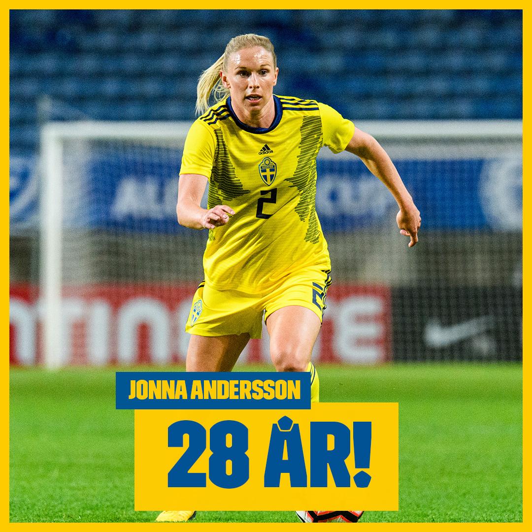 Stort grattis till Jonna Andersson som idag fyller 28 år! 🎂😃 Skriv din grattishälsning till Jonna här! 🎉