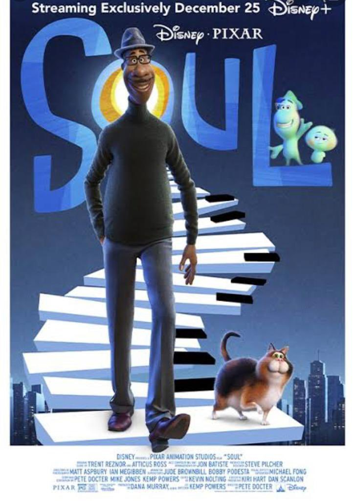"""I really enjoyed watching """"SOUL"""" over the holidays. It's heartfelt, brilliant and a real visual delight. @PixarSoul on @DisneyPlusHS in India. Beautiful!"""