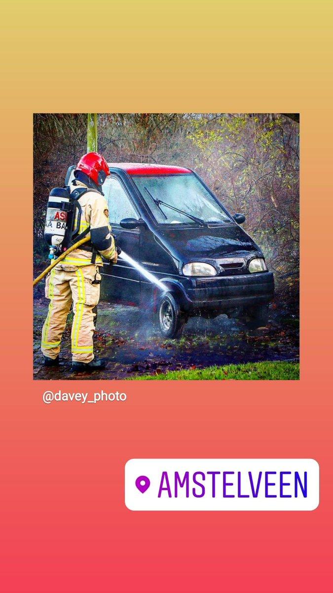 Melding brandweer Amstelveen
