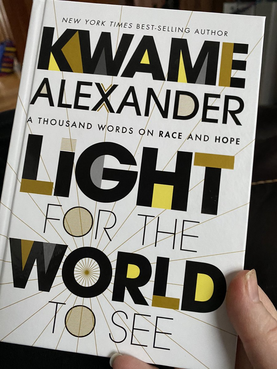 Early morning #bookmail delivery! #booklove @kwamealexander