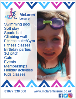 McLaren Leisure is a sport & leisure complex in Callander that prides itself on offering high quality, friendly service & facilities for all ages. #Football #Swimming #Climbing #Gym #Keepfit T: 01877 330000 E: info@mclarenleisure.co.uk W:   @mclarenleisure