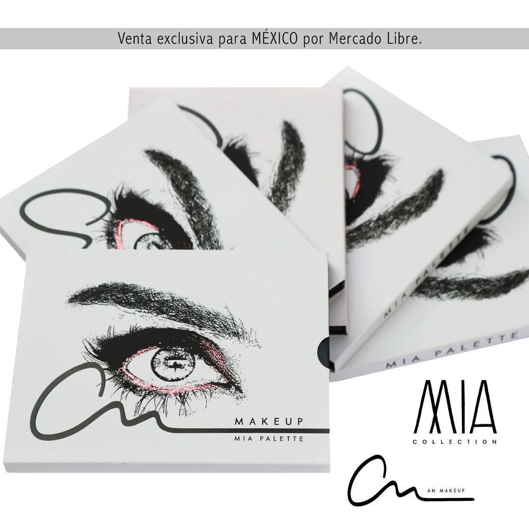 ⭐MIA PALETTE⭐ ¡Ideal para tu look favorito! @an.makeup1111 Consigue la tuya  en  @mercadolibre.mex  #anmakeup1111 #BecomeYourDream Anahi vía Instagram 📸