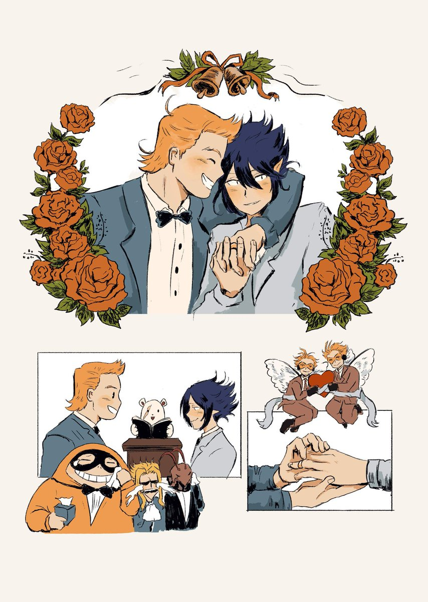 Replying to @_neetols_: Drew the miritama wedding no one asked for 🤧