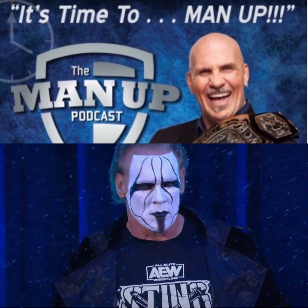 The Man, The Myth, The Legend, The Icon @Sting is on the show today! Be sure to download/subscribe to #ItsTimeToManUp and catch up on all the episodes. These interviews give interesting insight into the lives of others and will perhaps inspire you. Enjoy and help spread the word