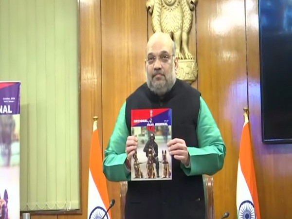 Replying to @ani_digital: Amit Shah releases 'National Police K-9 Journal'  Read @ANI Story |