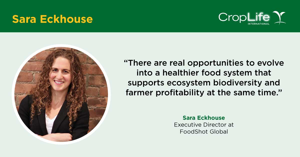 We interviewed Sara Eckhouse, Executive Director, @FoodShotGlobal about their inaugural 🌱 FoodShot, Innovating Soil 3.0, and how they look to invest in ways to better manage #soilhealth and #soilbiodiversity in the face of climate change. #WorldSoilDay