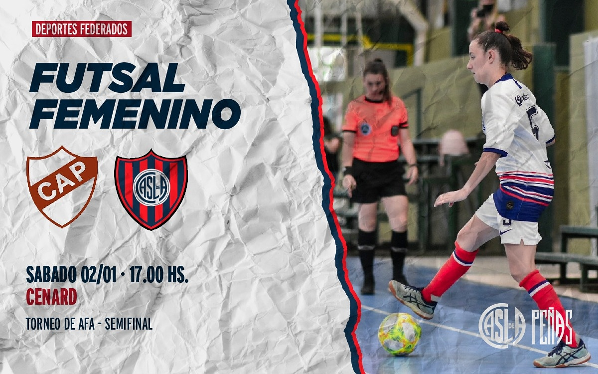 ⚽️ El Futsal Femenino enfrenta a Platense por las Semifinales del Torneo de AFA.  📌 CENARD 📅 02/01 ⏰ 17 Hs  #MasQue90Minutos 💙❤ #SLFederal 🇦🇷 #DeBoedoAlMundo ✈️🌍 #DeportesFederados