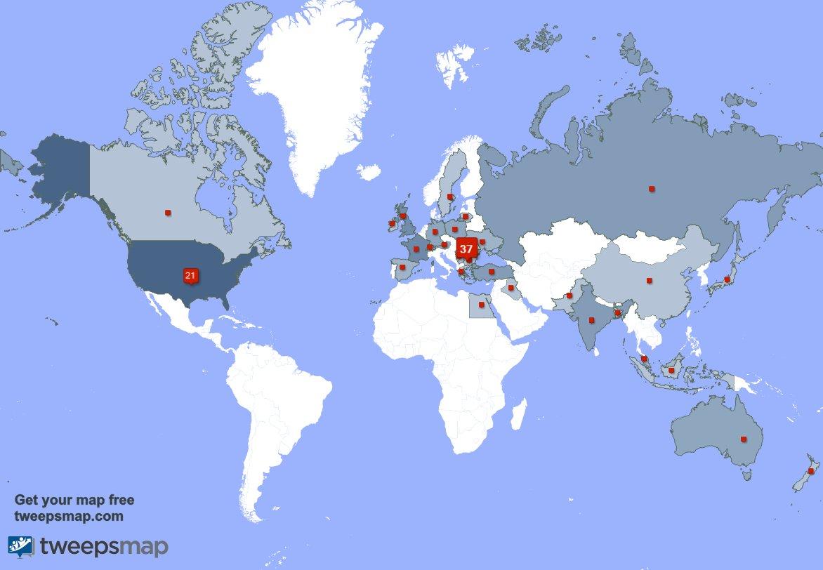 Armin Map Usa Canada Armin Razvan Nistor (@IamArmin) | Twitter