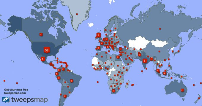 I have 362 new followers from India, UK., USA, and more last week. See https://t.co/HHVQXu5E7A https://t
