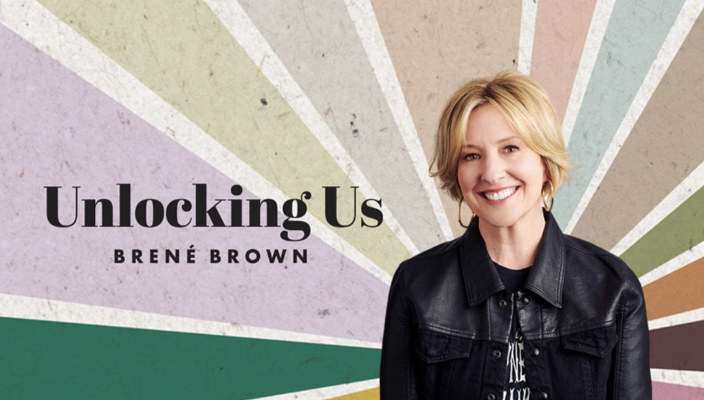 Get inspired and motivated for the new year with @brenebrown. She reflects on the magic and messiness of what it means to be human on Unlocking Us: