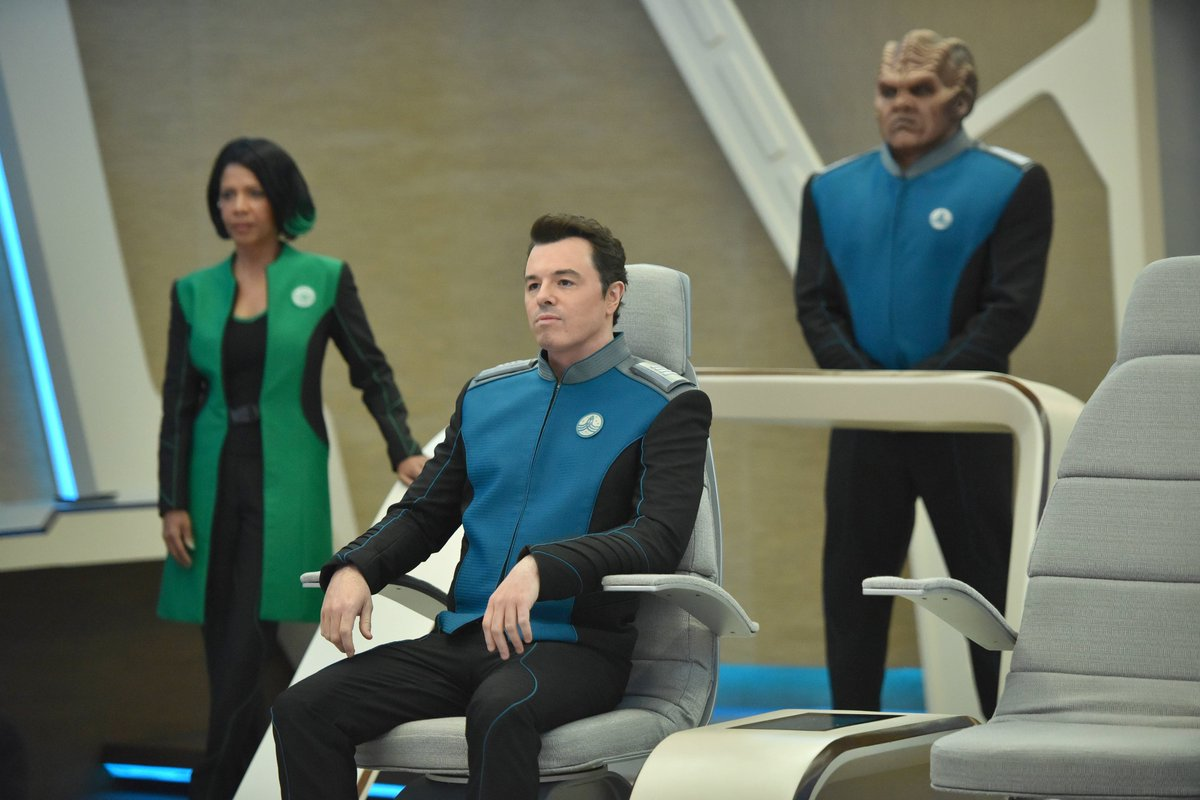 The captain and crew of #TheOrville would like to wish you all a Happy #NationalScienceFictionDay!