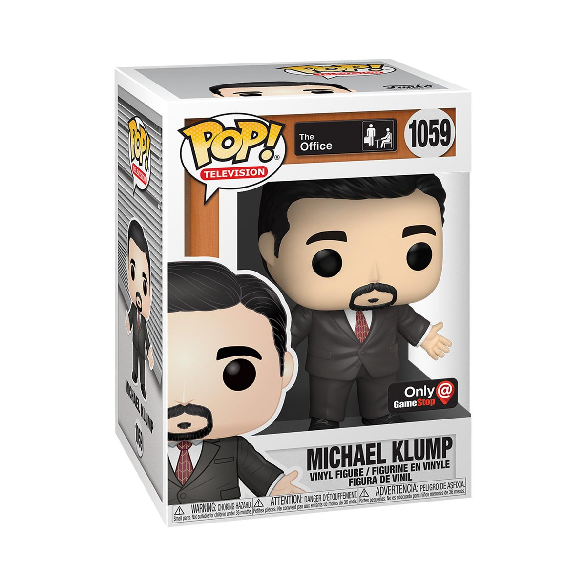 RT & follow @OriginalFunko for the chance to WIN this @GameStop exclusive Michael Klump Pop!  #Funko #Funkogiveaway #Theoffice