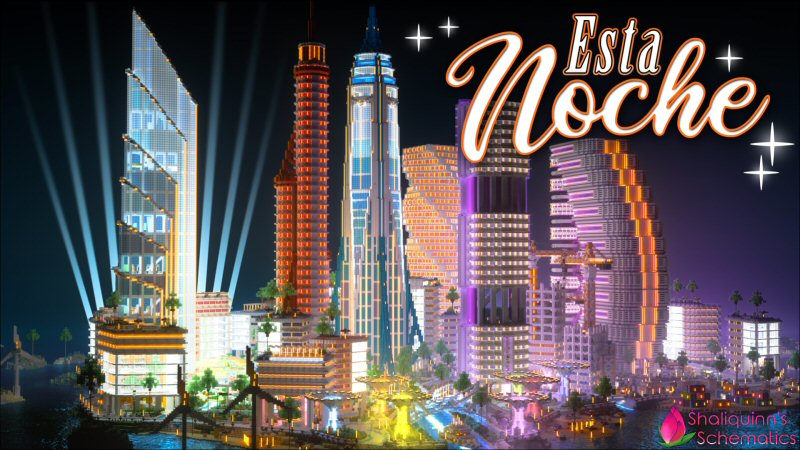 Today's daily deal welcomes you to Esta Noche by @Shaliquinn's Schematics, the city of luxury high rise buildings. Stretch out on the beach, relax on the boat, or hang out in the rooftop pool. Relax in style today!  🌃