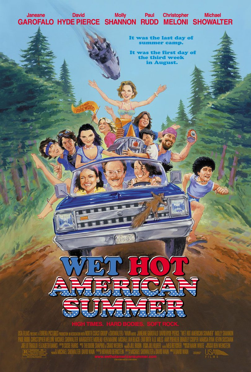 Wet Hot American Summer//2001 Dir. David Wain 7/10 (6) (N) #wethotamericansummer