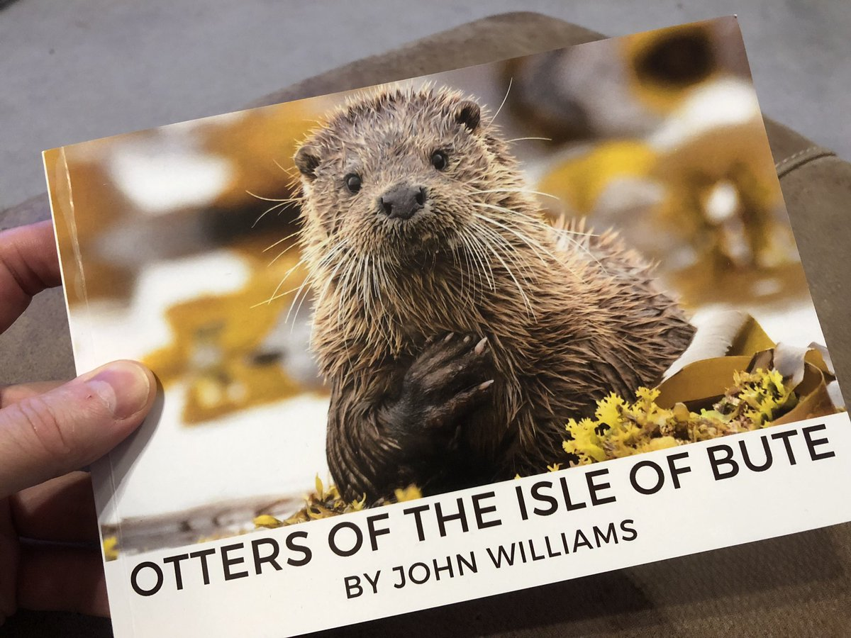Fantastic book by @williamsjohn76, stunning photography, I'm counting down to my first visit to Bute!