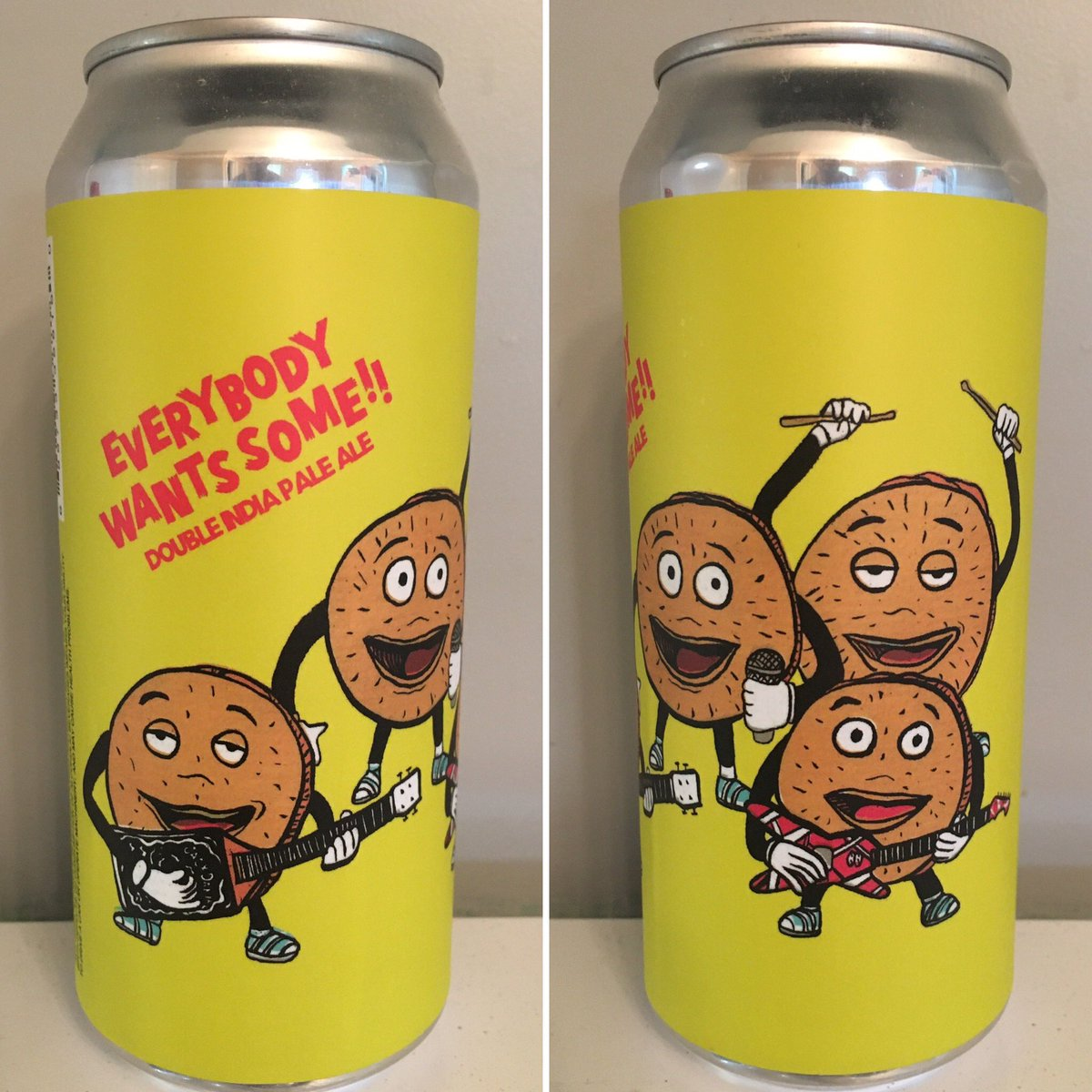 Hoof Hearted Brewing Everybody Wants Some!! Double IPA @VanHalen  #DavidLeeRoth #BetterOffDead #JohnCusack #canmuseum