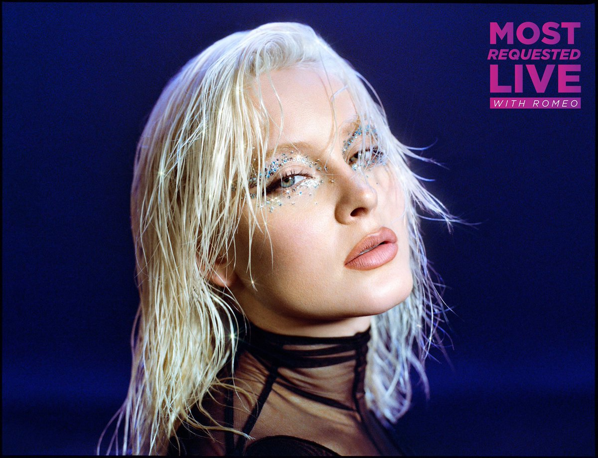 🎉🥳 We're thrilled to kick off the first show of 2021 w/ @zaralarsson tonight on #MostRequestedLive! 🤩🎶 We'll be the soundtrack to your dance party! 💃🏼🕺🏾 Tweet requests for @onairromeo & join us tonight @ 7pm ET on your radios & streaming devices! 📻