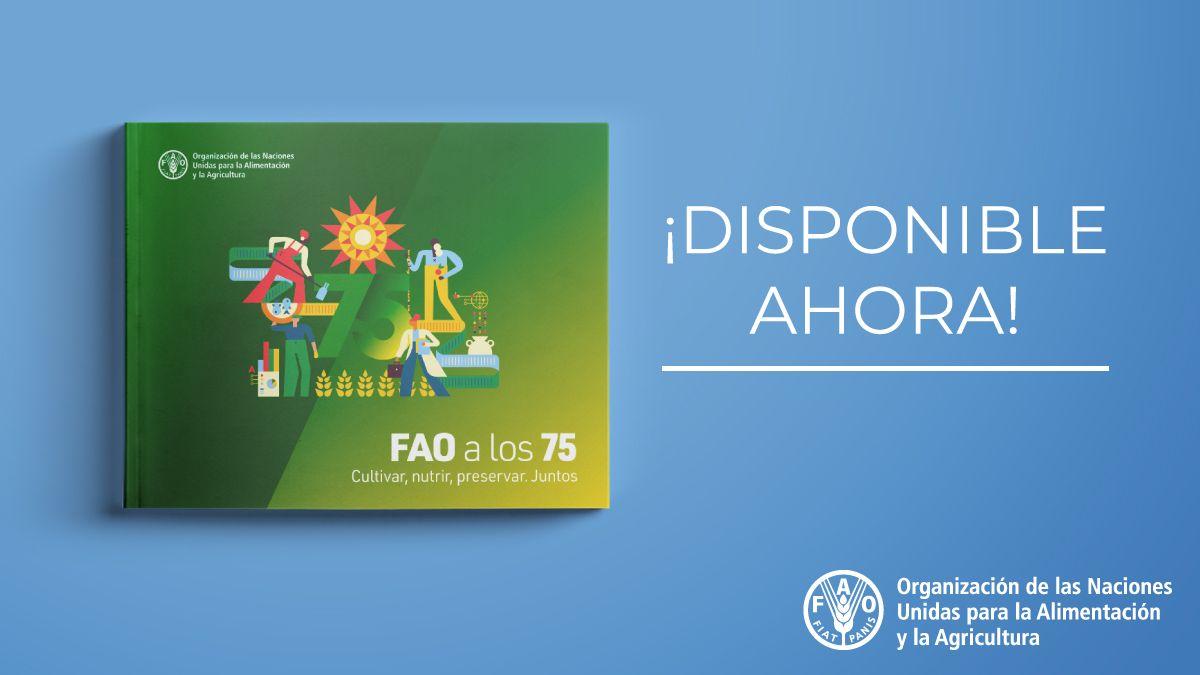 Son los 75 años de la @ONU_es  y la @fao, y en un momento en el que el 🌎 atraviesa grandes trastornos, agravados por la #COVID19...  💙 Necesitamos solidaridad 🙏  Descubre lo que hemos logrado y nuestra visión para el futuro 👇  📗    #ONU75 #UNDay #FAO75