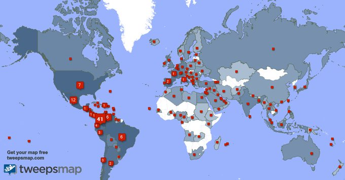 I have 811 new followers from Colombia 🇨🇴, Mexico 🇲🇽, USA 🇺🇸, and more last week. See https://t.co/R6lwg7W5ol