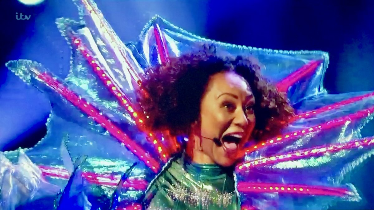Brilliant and who would've guessed! #Melb unmasked watch again  a stunning figure as #SeahorseMask #maskedsinger  @MaskedSingerUK