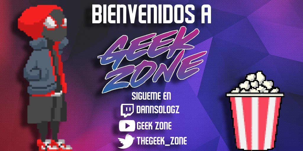 ✨ ¡Bienvenidos a Geek Zone! ✨  Soy Dani, el chaval detrás de todo esto, y en este hilo os voy a explicar todo lo que podéis encontrar en esta cuenta y comunidad.  Pero primero, recordad que también podéis seguirme en:  -  -