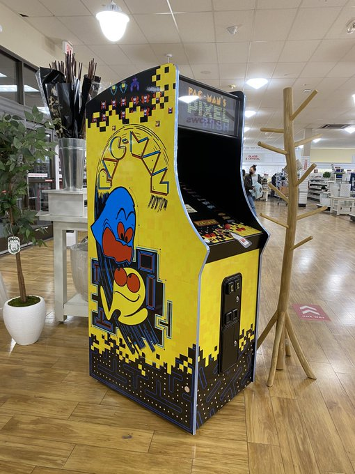 Should I buy this Pac-Man machine at home goods ??! https://t.co/la5f62K5Rd