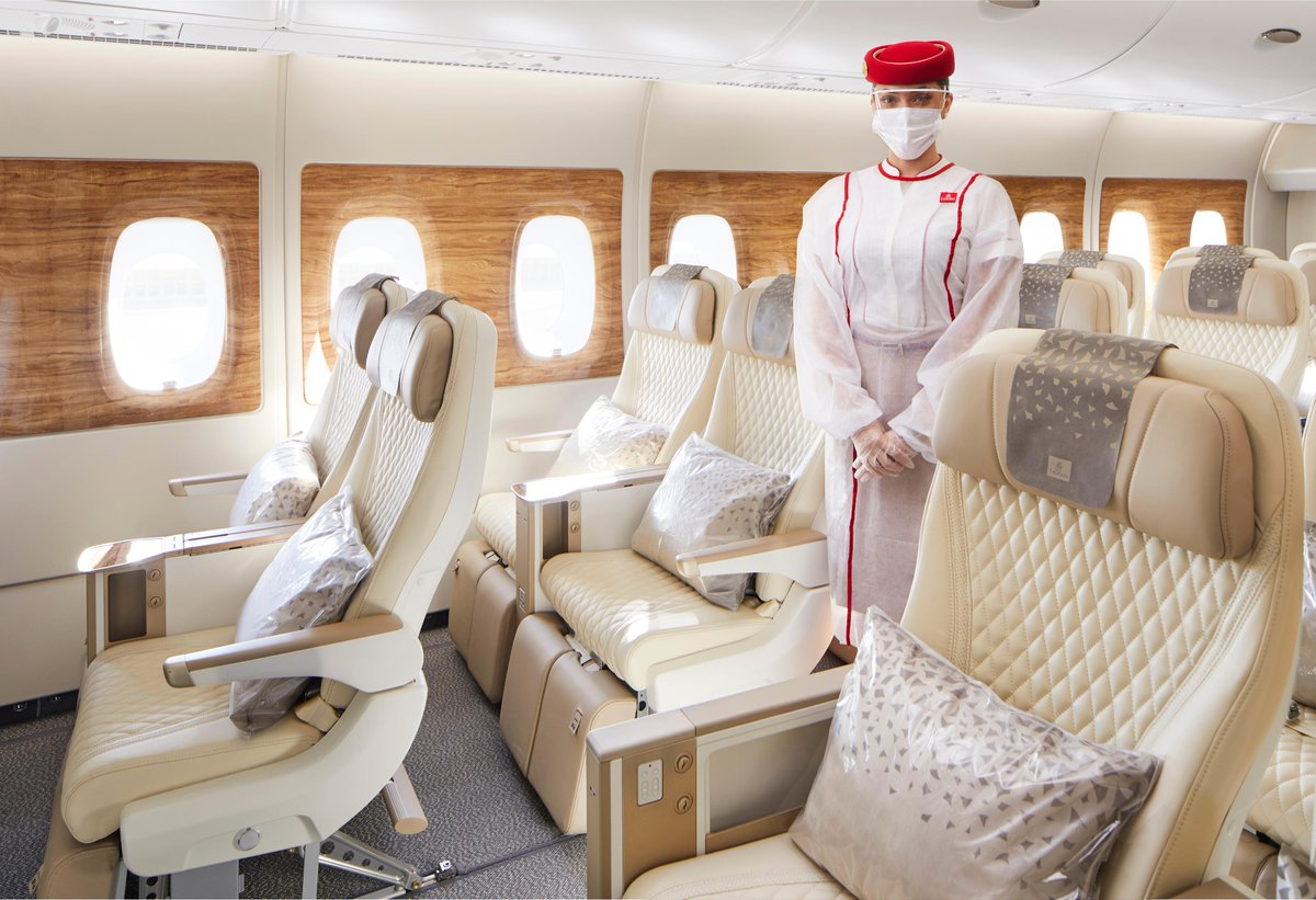 Emirates' latest @Airbus A380 with Premium Economy and refreshed interiors across all cabins will make its debut on 4 January to London @HeathrowAirport.   @DXB #FlyEmiratesFlyBetter