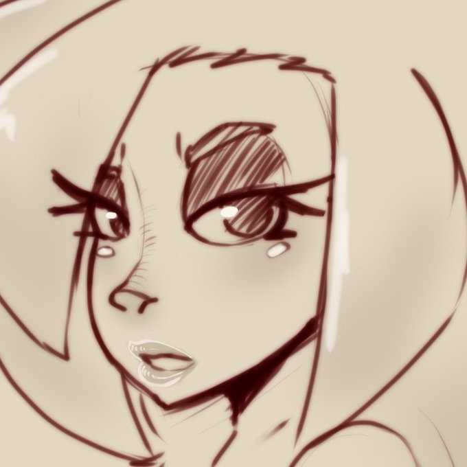 2 pic. Haven't drawn Lewna in a while, Here's the first drawing of her in 2021! https://t.co/NAcUwRY