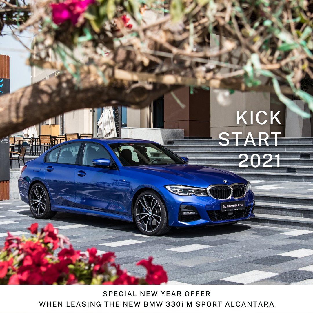 Drive into 2021 with the NEW BMW 330i M Sport Alcantara, now available for a yearlong lease.  Call 800 AGMC (2462) or message us to find out more.  #BMWAGMC #BMW330i #Msport #Alcantara #KickStart2021
