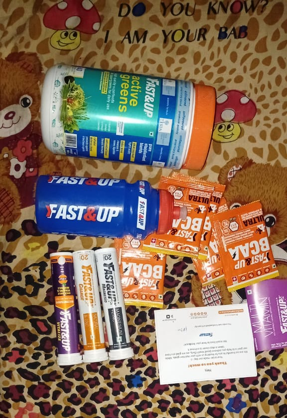 Thank u so much @FastandUp_India for this awsm gift hamper I recieved ❤😍   Also thanks to @india4contests