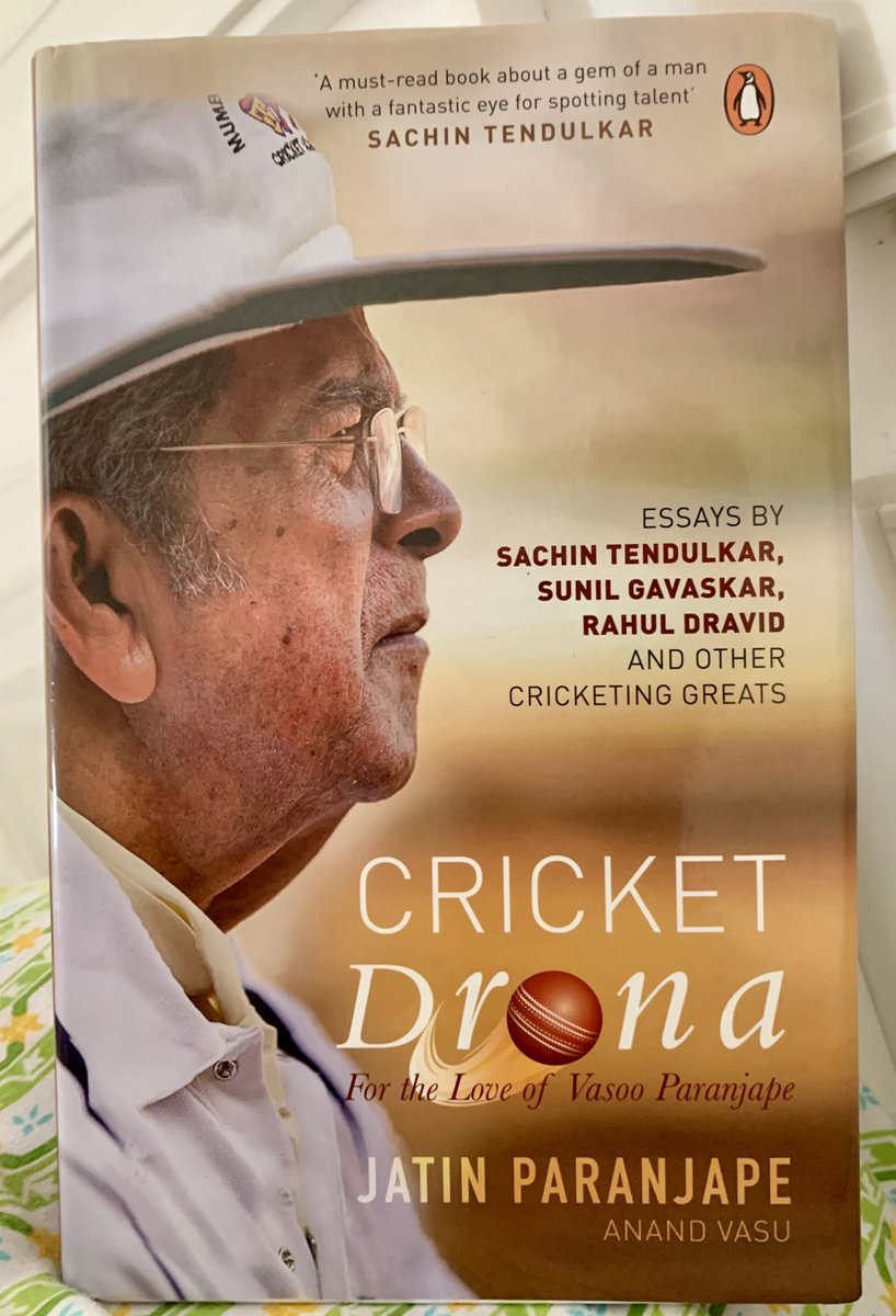 What a great journey this was @jats72! If Bombay Cricket is a School, Vasoo Sir is definitely the Principal!  All Cricket fans should read it, Mumbai Cricket fans MUST read it.  #CricketDrona @KheloMore #CurrentRead
