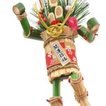 正月ロボ?100均で買った「ミニ門松」を分解して針金でつないで作ったロボット!