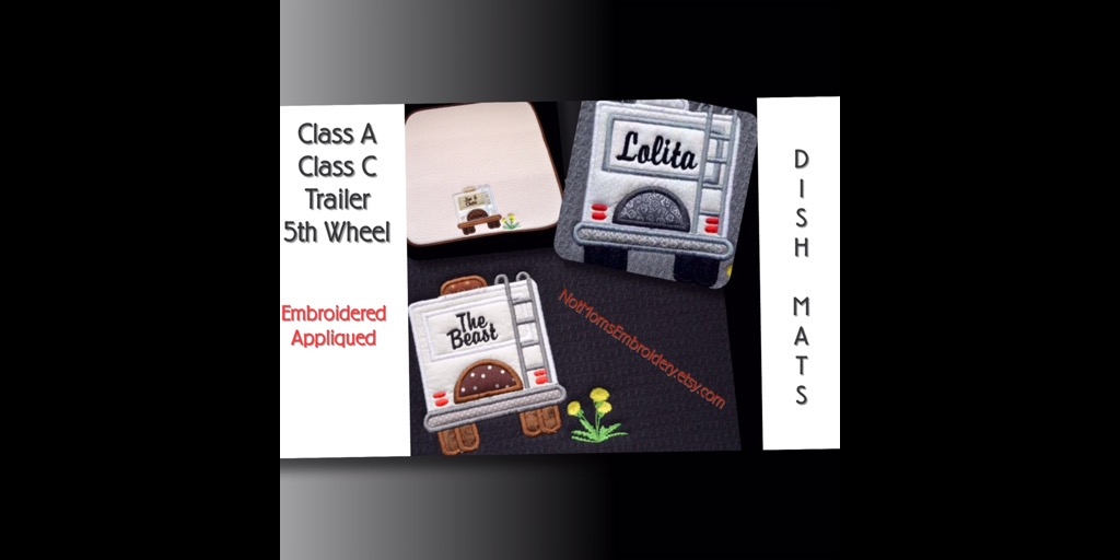 Love camping? Have you purchased your new RV dish drying mats and towels yet? So cute and perfect for your camper, 5th wheel, trailer or tent. A most on your list for camping supplies.  #follow4follow