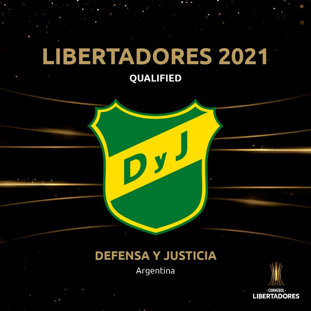 👋🟢🟡 @ClubDefensayJus have qualified for the 2⃣0⃣2⃣1⃣ #Libertadores!