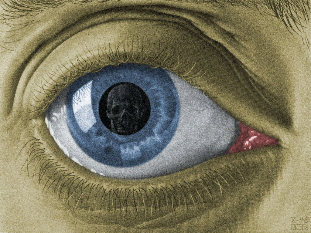 Eye Colour, 1946 #escher #mcescher
