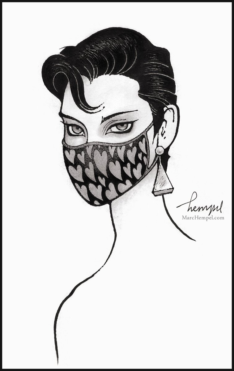 Replying to @MarcHempel: The end of my masked Endless portraits: Desire!  @neilhimself