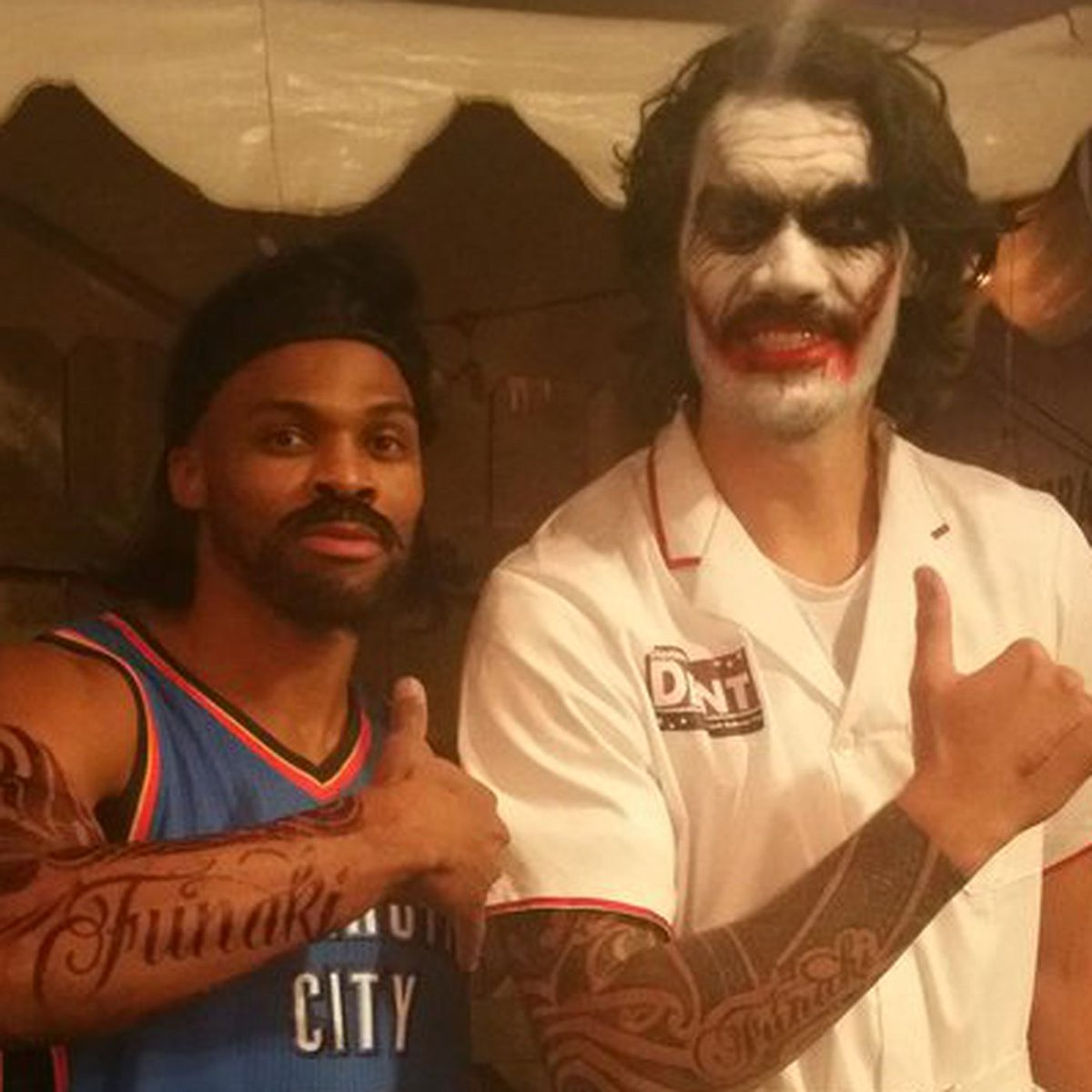 Sometimes I think about how much Steven Adams must miss Russell Westbrook. https://t.co/qBPuFliZl0