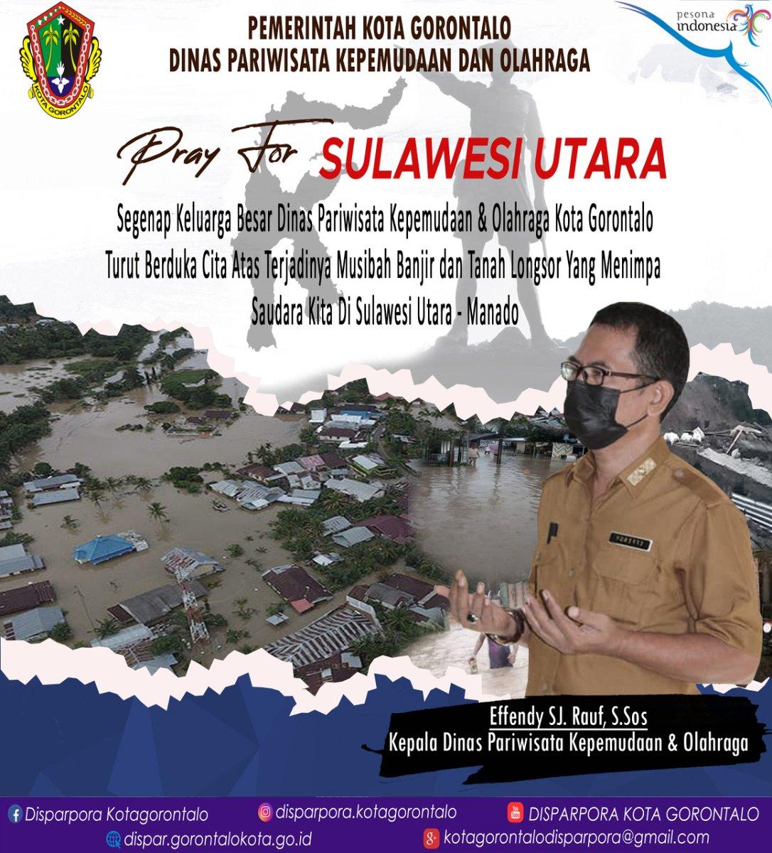 Doa terbaik buat kalian yang ada di Sulawesi Utara - Kota Manado yang terdampak banjir dan tanah longsor, staysafe semua 🙏🙏  #prayforsulut #prayforindonesia #staysafe