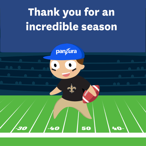 Thank you to the @Saints, @drewbrees, @SeanPayton for an incredible season.  It's been such a pleasure to support you  ❣️ https://t.co/SozwdbmY50